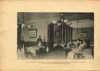 The Hotel Florence Dining Room, ca. 1892